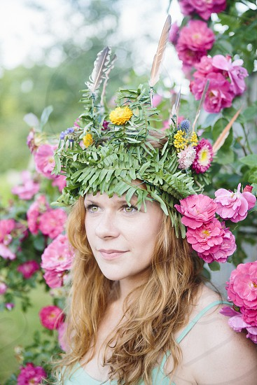 A day with Nicole is a day where the wild things are. #Wildwoman #portrait #Crown #naturallight photo