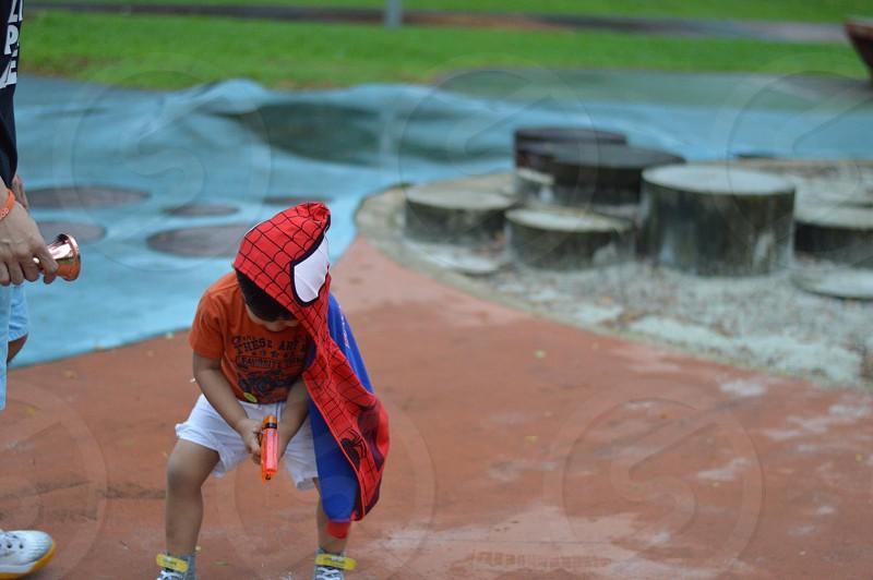 Park activities park games kid spiderman outdoor outdoor activities photo