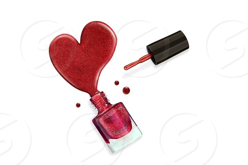 Cosmetics creative shot for portfolio photo