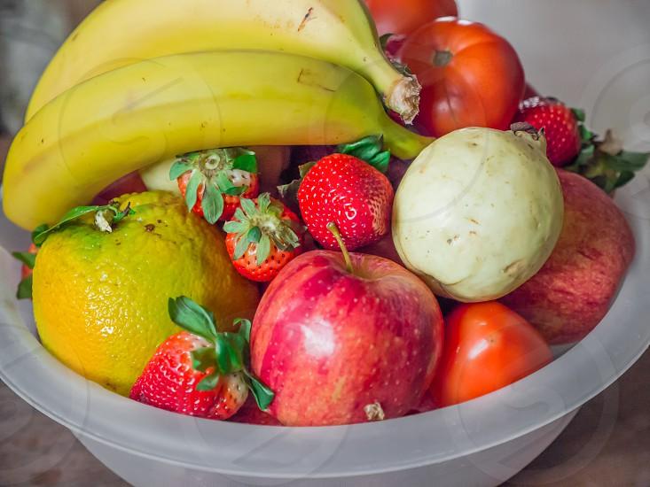 Large Fruit bowl photo