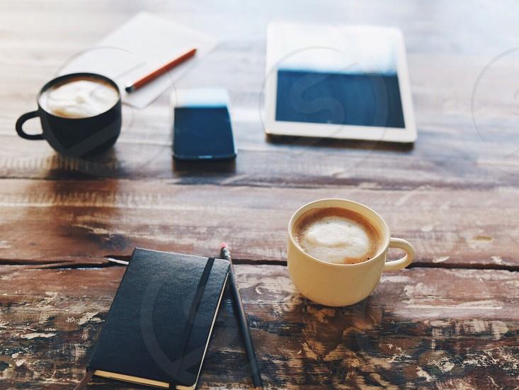 Brainstorm strategy work startup business ideas marketing agency social media  photo