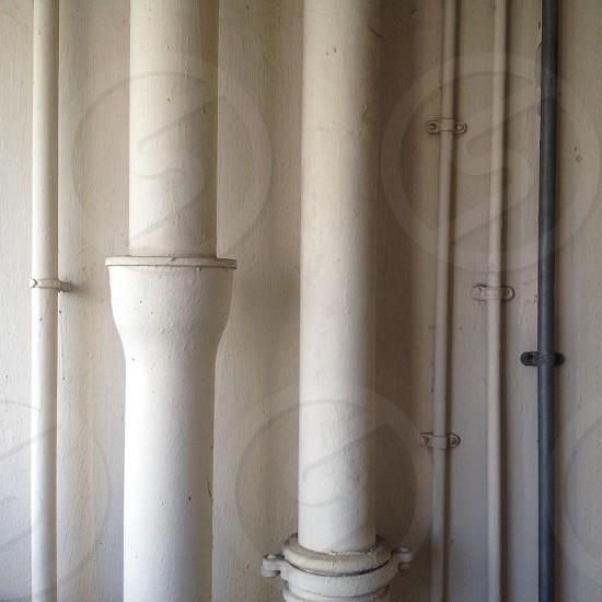 white metal tube photo