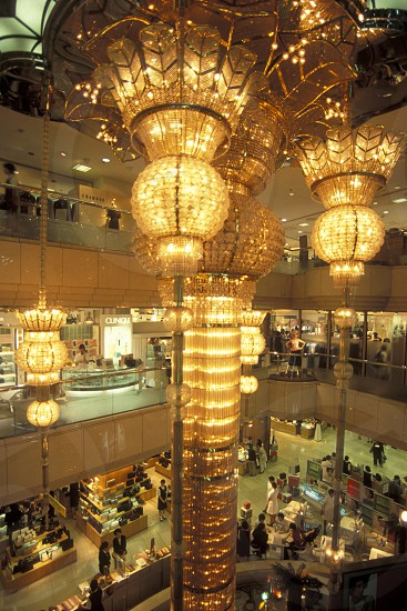 the lotte shopping mall in city centre of Seoul in South Korea in EastAasia.  Southkorea Seoul May 2006 photo
