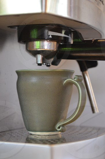 Espresso machine sage mug photo