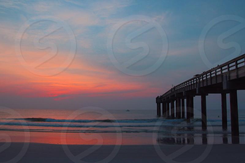St. John's Pier Beach Sunrise Beach photo
