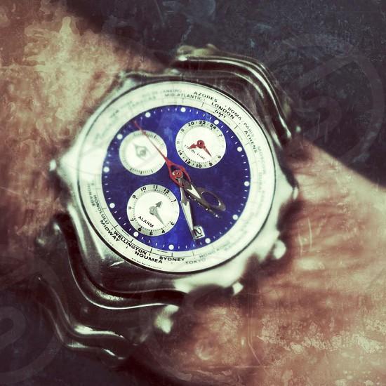 "Oakley ""GMT"" mens watch.  photo"
