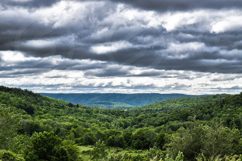 Taken in Pleasant Valley ~ #mountains #mountain #landscape #nature #natural #photography #woods #hills #valley photo