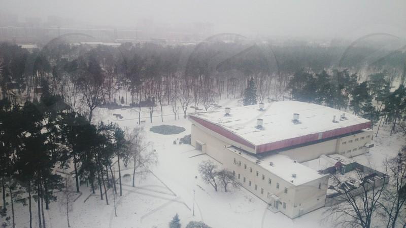 #Snow #Park #kiev #ukraine photo