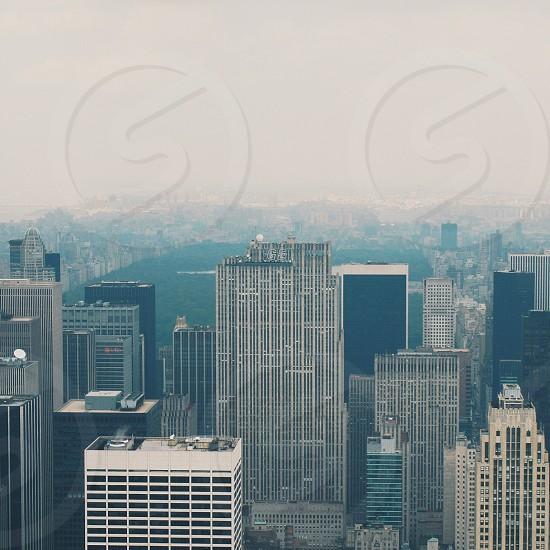 silver skyscraper cityscape photo