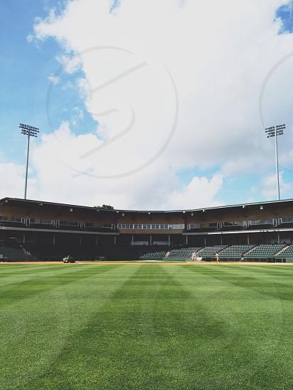 baseball stadium field photo