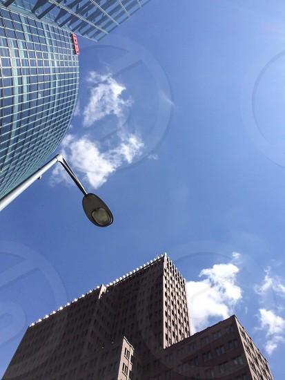 Looking up in Berlin  photo