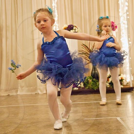 Little Girl Dancing photo