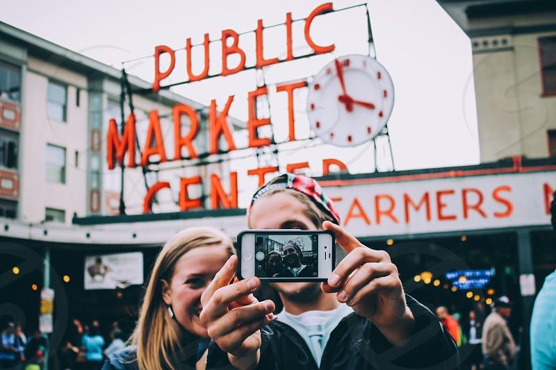 Pike Place Market Seattle WA photo