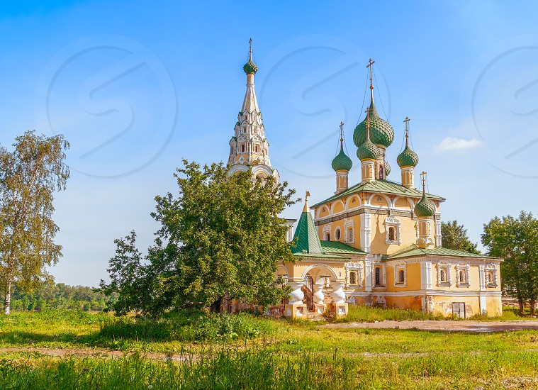 Church of the Nativity of Saint John the Baptist in Uglich. Yaroslavl Oblast. Russia  photo