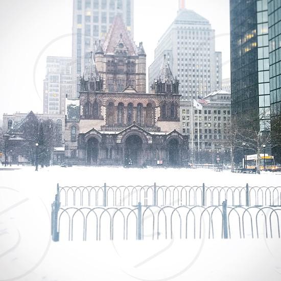 Snowy Boston  photo