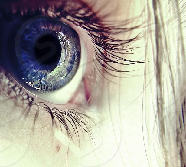 woman eye photo