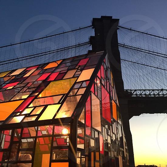 dumbo art festival NYC photo