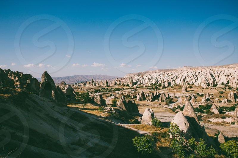 Landscape from Cappadocia Turkey photo
