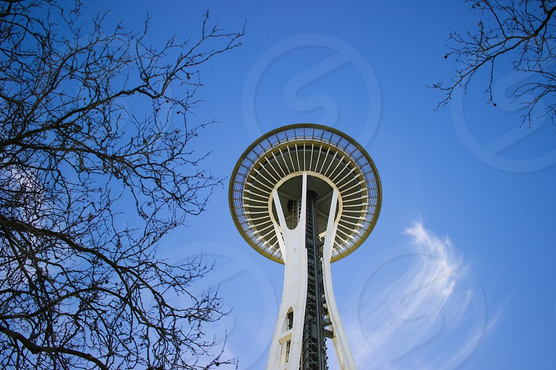 Space needle in Seattle  photo