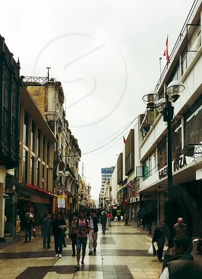 Union Street in Lima Peru photo