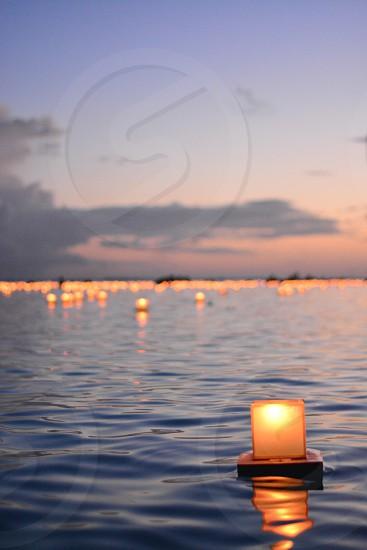 Hawaii Lantern Oahu Ocean photo