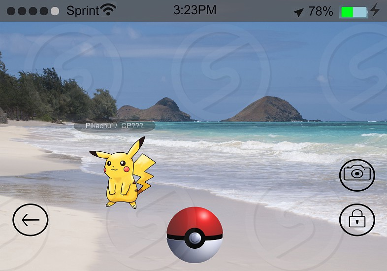 Pokemon GO Pikachu had enough... He's on vacation!! photo