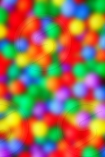 blurred colorful balls like out focus color spots background photo