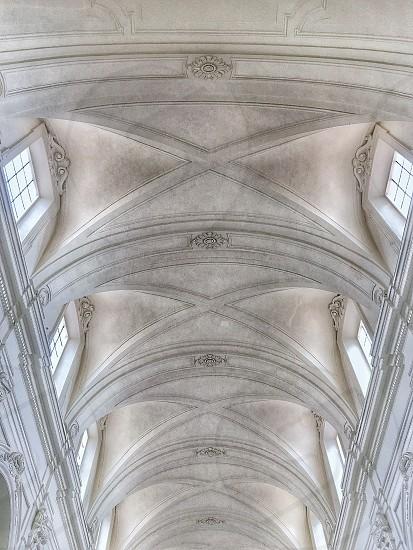 Even architecture dresses total white! photo