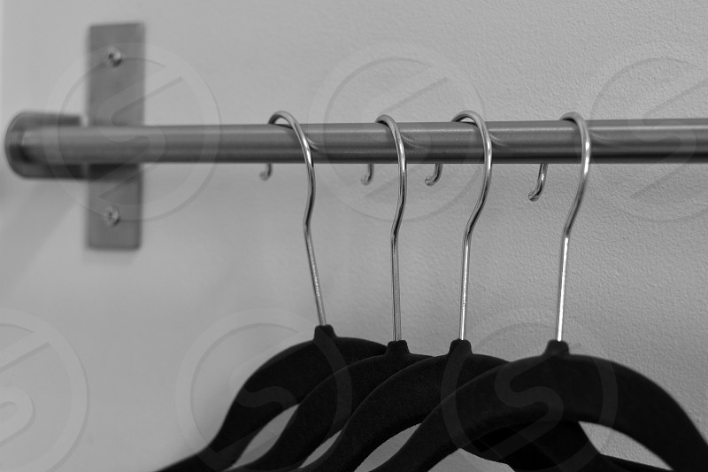 Chaos into Order clothes hangers photo