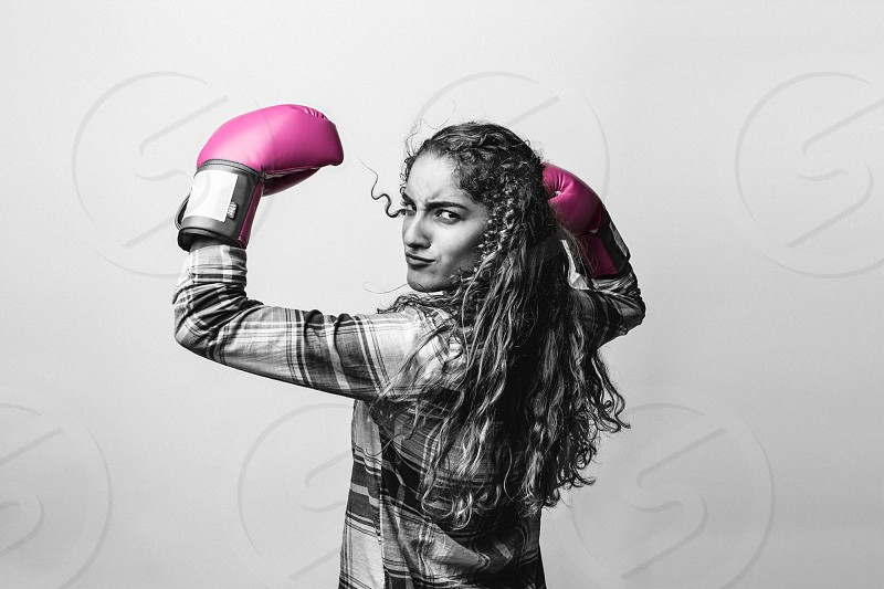 Women against breast cancer. photo