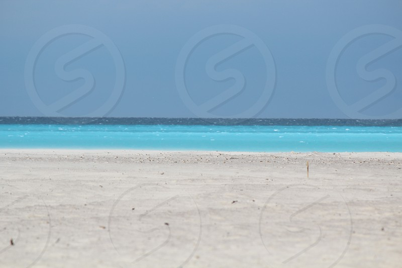 view of blue bech photo