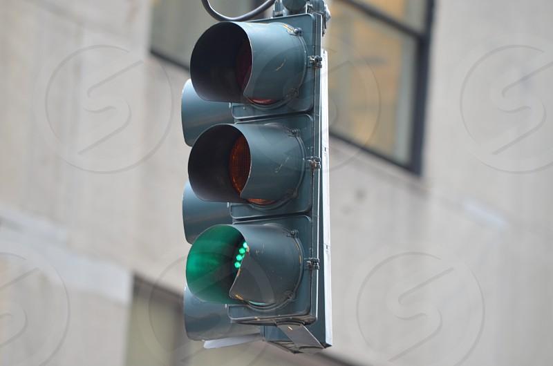 stop light green light photo