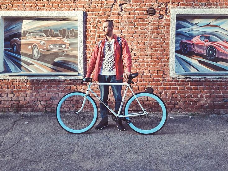 Urban portrait photo