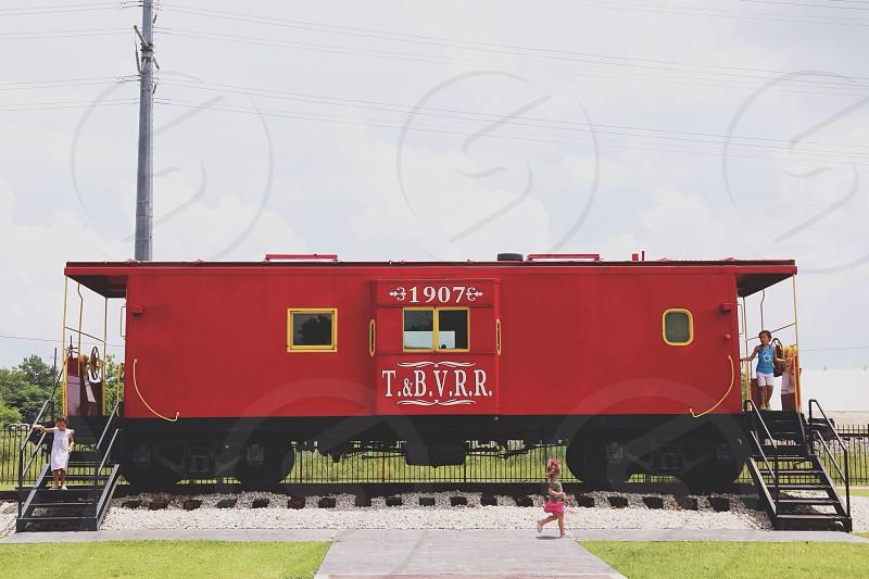 red train photo