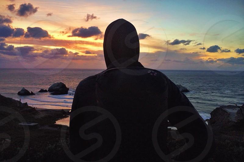 hooded jacket photo