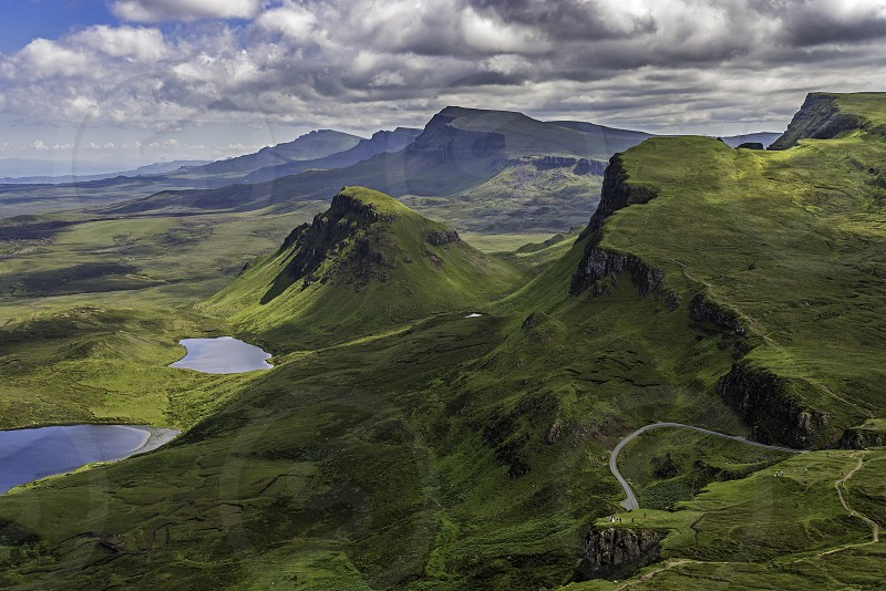 The Quiraing Isle Of Skye. photo