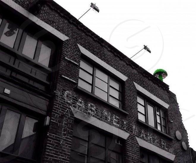 East London Black and White ColourPop photo