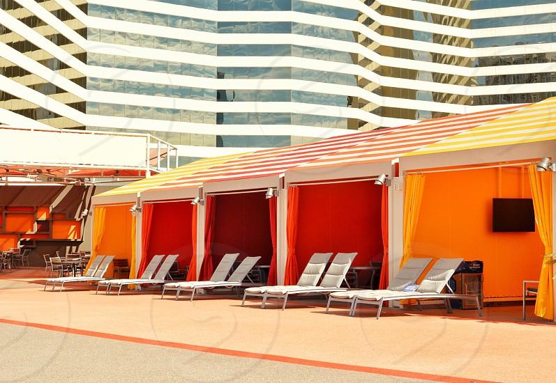 Las Vegas; Stratosphere; pool deck photo
