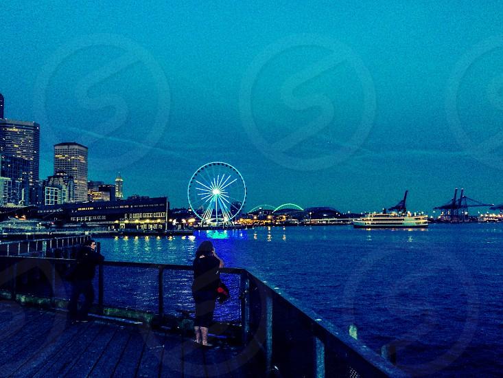 Seattle waterfront  photo
