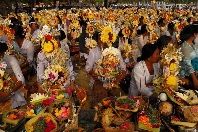 Bali traditional culture photo