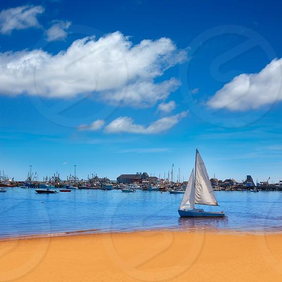 Cape Cod Provincetown beach Massachusetts USA photo