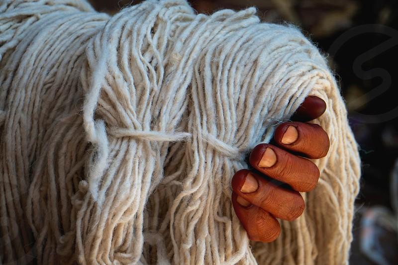 Hands of Yarn - Marrakech Morocco photo