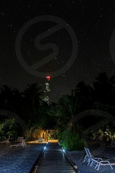 #holiday #island #maldives #night #stars #beach #sand photo