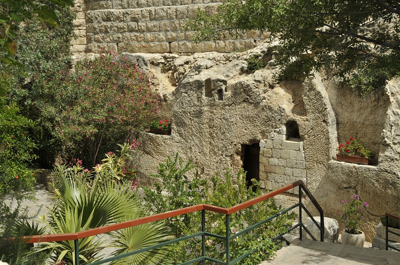 holy tomb of resurrection of Jesus christ according to the bible photo