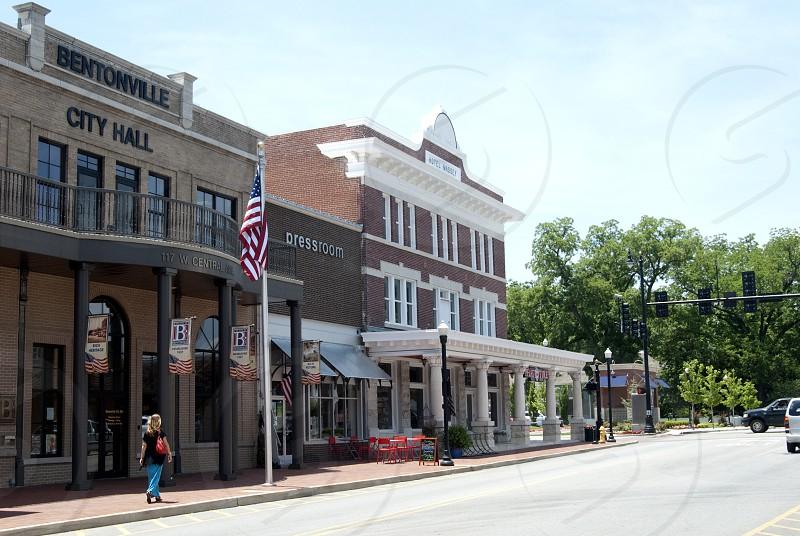 Bentonville City Hall photo