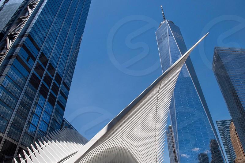 Architecture  design  symmetry  art  World Trade Center  New York  New York City  photo