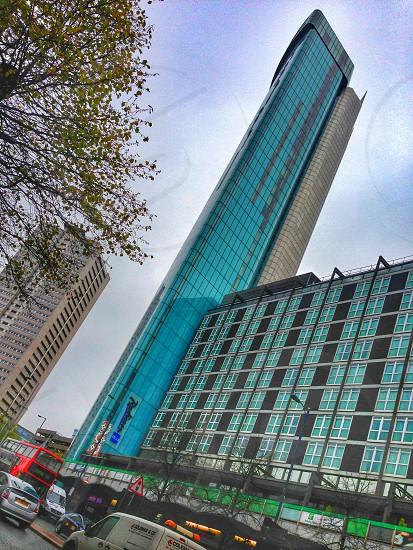 Hotel Birmingham blue tower  photo