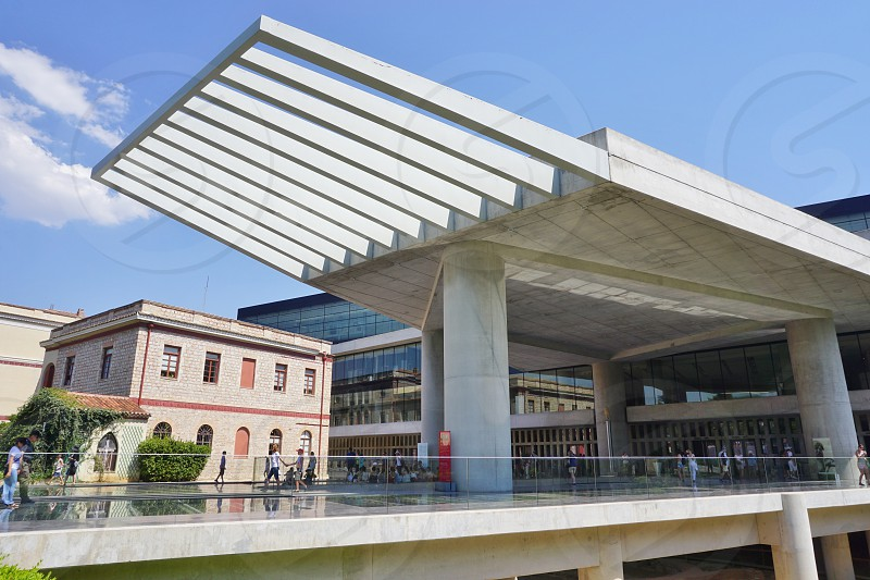 The Acropolis Museum in Athens Greece photo