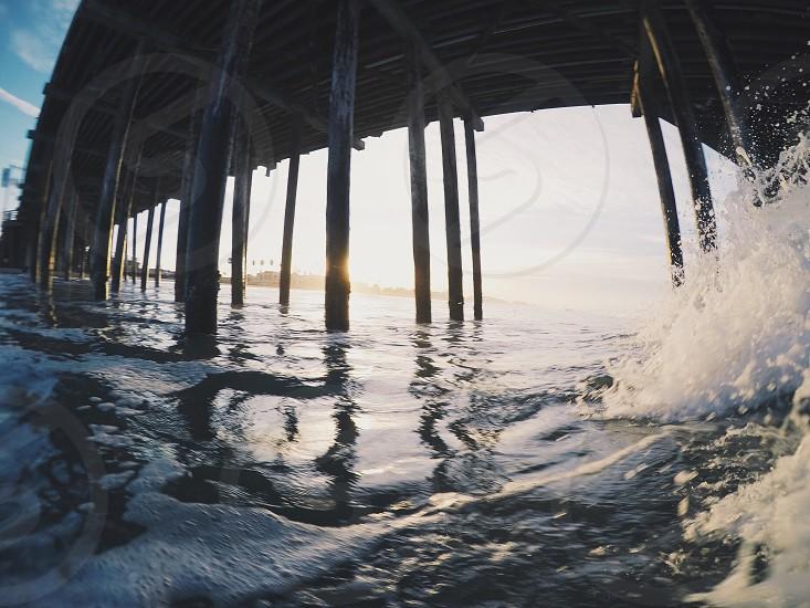 Pismo Beach pier - shot on a GoPro Hero 4 Black photo