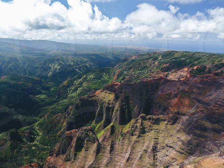 Drone nature Kauai  photo